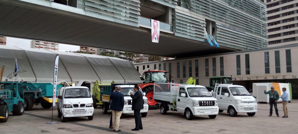 Exposición y demostración de maquinaria en ECOPLAYAS 2016