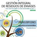 ¡¡¡ Últimas plazas !!! – 5ª edición del Curso gratuito de Gestión Integral de Residuos de Envases