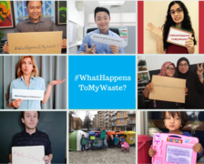 foto-Campaign #WhatHappensToMyWaste