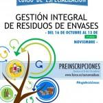 Organizado por CIRCE – Curso gratuito ¡Preinscripciones Abiertas!- Sexta edición del Curso de Especialización en Gestión Integral de Residuos de Envases