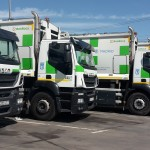 """""""UTE RM2 provides a sustainable waste collection service to Madrid's central and peripheral zones"""" by Timothy Byrne"""