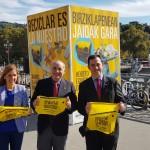 La campaña 'Reciclar es lo nuestro' llega a Bilbao para impulsar el cumplimiento de los objetivos europeos en materia de residuos