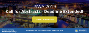 Call for Abstracts - FaceBook ISWA-Deadline Extended