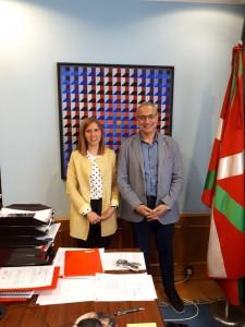 Elena Unzueta y Antonis Mavropoulos