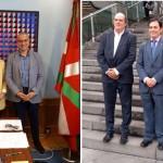 El presidente de ISWA, Antonis Mavropoulos, presentó el World Congress ISWA2019 a las autoridades de Bilbao y Bizkaia