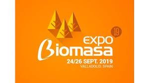 logo EXPOBIOMASA 2019 naranja